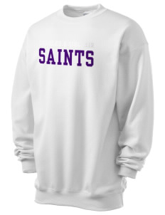 Charles B Sinclair Middle School Saints Men's 7.8 oz Lightweight Crewneck Sweatshirt
