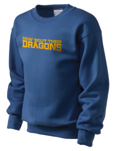 Potomac Heights Elementary School Dragons Kid's Crewneck Sweatshirt