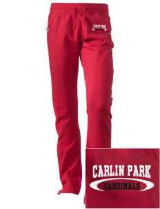 Carlin Park Elementary School Cardinals Embroidered Holloway Women's Axis Performance Sweatpants