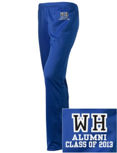 Woodland Hills Elementary School Tigers Embroidered Holloway Women's Contact Warmup Pants