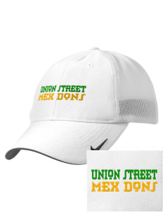 Union Street Elementary School Mex Dons Embroidered Nike Golf Mesh Back Cap