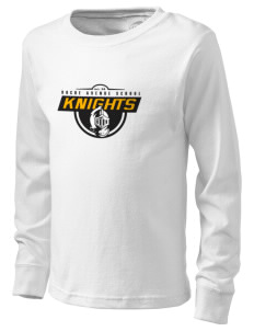 Roche Avenue School Knights  Kid's Long Sleeve T-Shirt