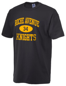 Roche Avenue School Knights  Russell Men's NuBlend T-Shirt