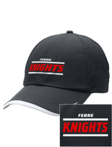 Fedde Middle School Knights Embroidered Nike Dri-FIT Swoosh Perforated Cap