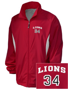 Munford High School Lions Embroidered Holloway Men's Full-Zip Jacket