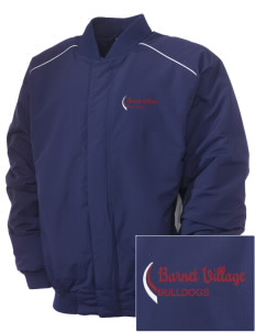 Barnet Village School Bulldogs Embroidered Russell Men's Baseball Jacket