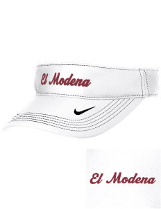 El Modena High School Vanguards Embroidered Nike Golf Dri-Fit Swoosh Visor