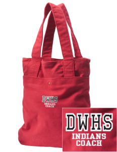Daniel Webster High School Indians Embroidered Alternative The Berkeley Tote