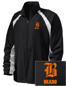 Saint Joseph Junior High School Bears  Embroidered Men's Full Zip Warm Up Jacket