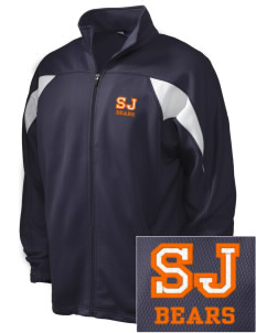 Saint Joseph Junior High School Bears Embroidered Holloway Men's Full-Zip Track Jacket