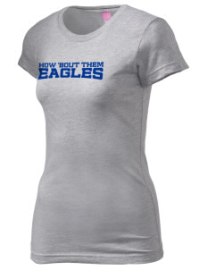 Saint Anthony School Eagles  Juniors' Fine Jersey Longer Length T-Shirt