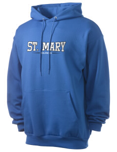 Saint Mary Elementary School Dolphins Men's 7.8 oz Lightweight Hooded Sweatshirt