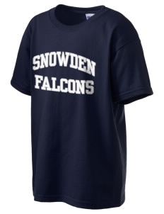 Snowden Elementary School Falcons Kid's 6.1 oz Ultra Cotton T-Shirt