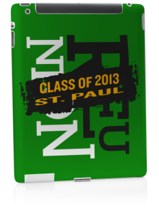 Saint Paul School Lions Apple iPad 2 Skin