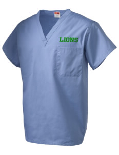 Saint Paul School Lions V-Neck Scrub Top
