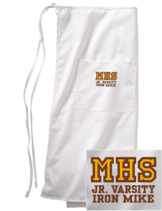 McCorristin Catholic High School Iron Mike Embroidered Full Bistro Bib Apron