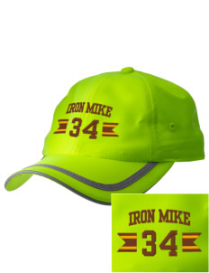 McCorristin Catholic High School Iron Mike  Embroidered Safety Cap