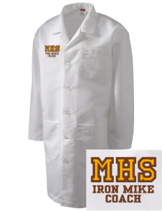 McCorristin Catholic High School Iron Mike Full-Length Lab Coat