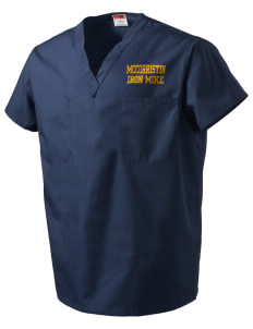 McCorristin Catholic High School Iron Mike V-Neck Scrub Top