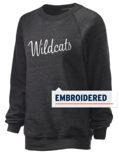 St. Nicholas of Tolentine High School Wildcats Embroidered Unisex Alternative Eco-Fleece Raglan Sweatshirt