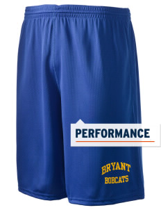 "Bryant Middle School Bobcats Holloway Men's Speed Shorts, 9"" Inseam"
