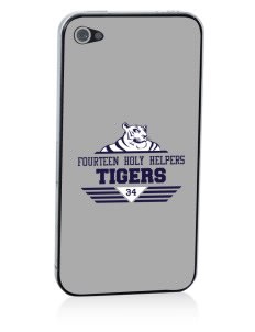 Fourteen Holy Helpers School Tigers Apple iPhone 4/4S Skin