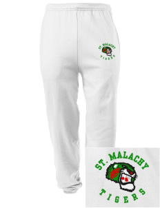 Saint Malachy Elementary School Tigers Embroidered Men's Sweatpants with Pockets