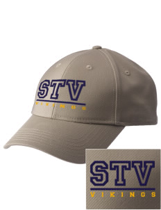 Saint Thomas Of Villanova School Vikings  Embroidered New Era Adjustable Structured Cap