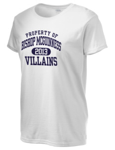 Bishop McGuinness Catholic High School Villains Women's 6.1 oz Ultra Cotton T-Shirt