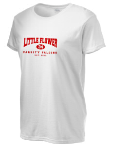Little Flower Catholic School Falcons Women's 6.1 oz Ultra Cotton T-Shirt