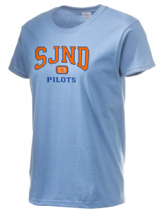 Saint Joseph Notre Dame High School Pilots Women's 6.1 oz Ultra Cotton T-Shirt
