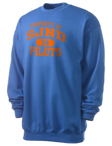 Saint Joseph Notre Dame High School Pilots Men's 7.8 oz Lightweight Crewneck Sweatshirt