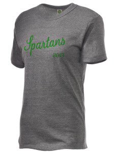 Saint Philip Neri School Spartans Embroidered Alternative Unisex Eco Heather T-Shirt