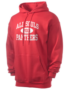All Souls School Panthers Men's 7.8 oz Lightweight Hooded Sweatshirt