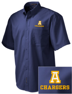 Annunciation Elementary School Chargers Embroidered Men's Easy Care Shirt