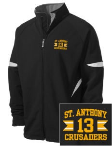 Saint Anthony School Crusaders Holloway Embroidered Men's Radius Zip Front Jacket