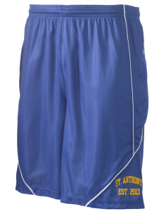 "Saint Anthony School Crusaders Men's Pocicharge Mesh Reversible Short, 9"" Inseam"