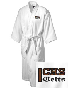 Crespi Carmelite High School Celts Embroidered Terry Velour Robe
