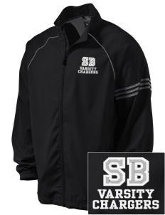 Saint Bede School Chargers Embroidered adidas Men's ClimaProof Jacket