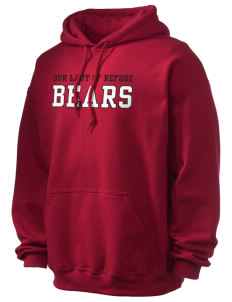 Our Lady Of Refuge School Bears Ultra Blend 50/50 Hooded Sweatshirt