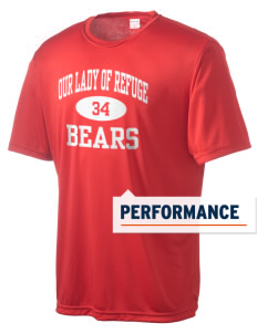 Our Lady Of Refuge School Bears Men's Competitor Performance T-Shirt