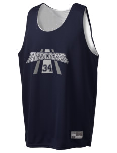 Our Lady Of Perpetual Help School Indians Holloway Men's Halfcourt Reversible Basketball Jersey
