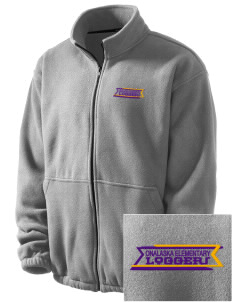 Onalaska Elementary Middle School Loggers Embroidered Men's Fleece Jacket