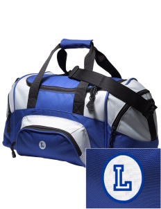 West Seattle Christian School Lions Embroidered Small Colorblock Duffel