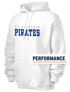 Saint Polycarp Elementary School Pirates Russell Men's Dri-Power Hooded Sweatshirt