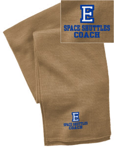 Endeavor Intermediate School Space Shuttles  Embroidered Knitted Scarf