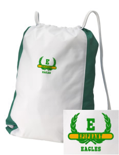 School Of The Epiphany Eagles Embroidered Holloway Home and Away Cinch Bag