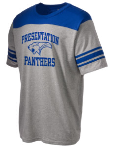 Presentation High School Panthers Holloway Men's Champ T-Shirt