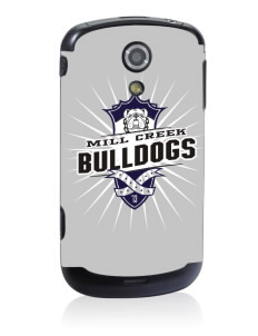 Mill Creek Middle School Bulldogs Samsung Epic D700 4G Skin