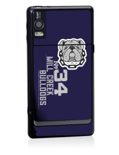 Mill Creek Middle School Bulldogs Motorola Droid 2 Skin